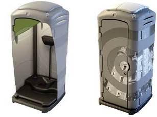 Toaleta monolit Firenze